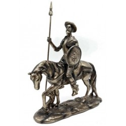Quijote y Rosinante
