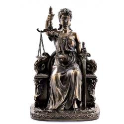 Justicia Romana, Bronce