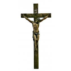 Crucifijo de Pared, Bronce